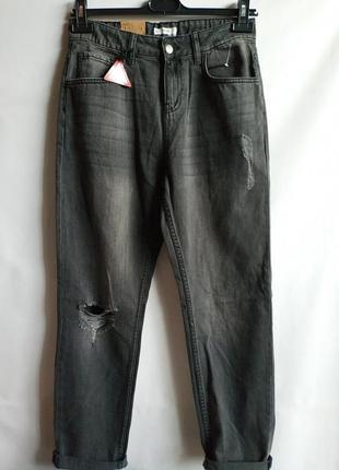 Подростковые джинсы mom из плотного денима kiabi 18 лет 164-17...