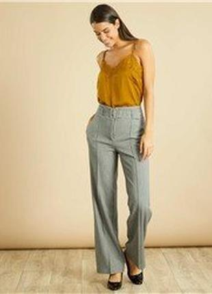 Стильные брюки с завышенной талией французского бренда kiabi ,...
