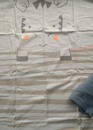 Комплект детское постельное белье kiabi оригинал франция европа