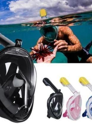 Дайвинг маска Tribord Easybreath Black 4 для подводного плавания