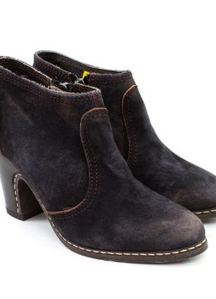 Женские замшевые  ботильоны ботинки liebeskind berlin германия