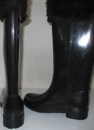Женские резиновые сапоги сток из европы производство италия