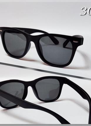 Стильные детские солнцезащитные очки с поляризацией в матовой ...