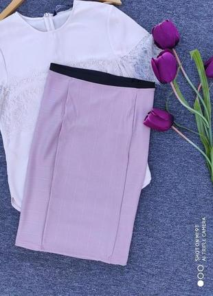 Брендовая юбка от zara раз.xs-s