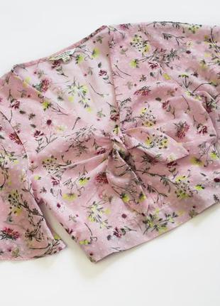 Нежная блуза топ в цветочный принт от miss selfridge