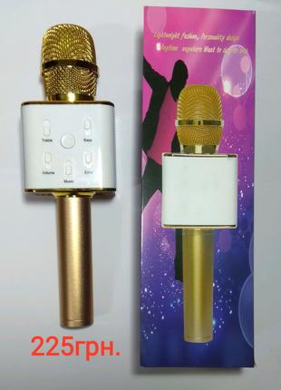 Беспроводной микрофон - караоке bluetooth