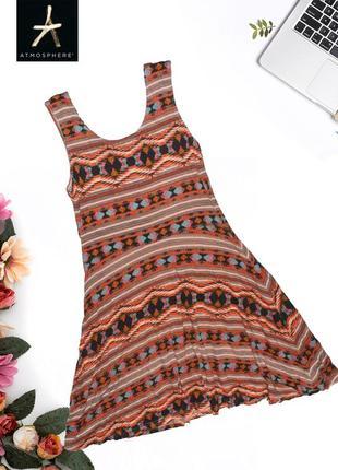 Платье в геометрический узор atmosphere