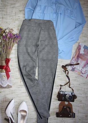 Стильные брюки с лампасами . штаны