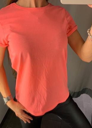 Яркая неоновая футболка amisu fb sister есть размеры