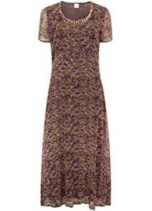Платье макси миди батал большой размер uk 26 28 30