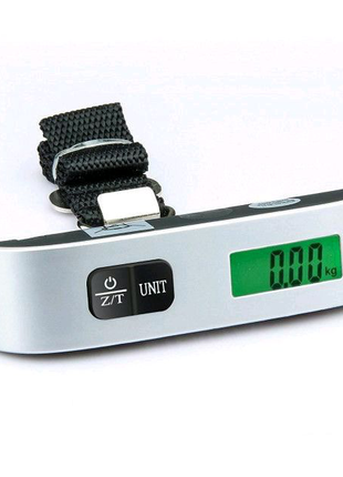 Весы багажные ручные до 50кг (электронный кантер)