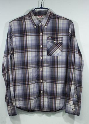 Рубашка мужская tommy hilfiger  размер s состояние отличное