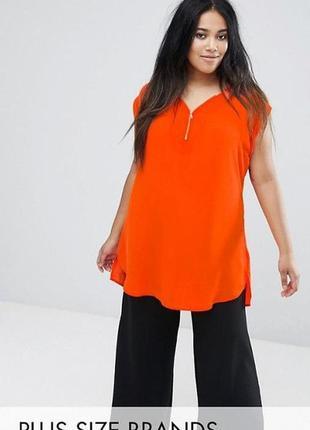 Платье туника большого размера new look