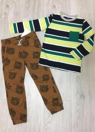 Одежда для мальчика 110p h&m