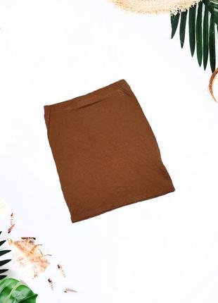 Базовая трикотажная мини юбка atmosphere