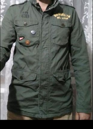 Классная Мужская Куртка Фирменная