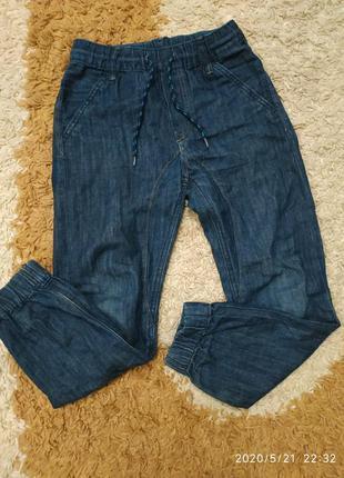 Брендовые джинсы h&m denim на 7-8 лет (можно раньше)