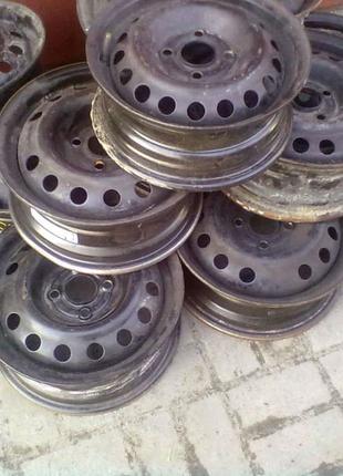 Сталевий диск 5,5хR14 4х100 ЕТ49