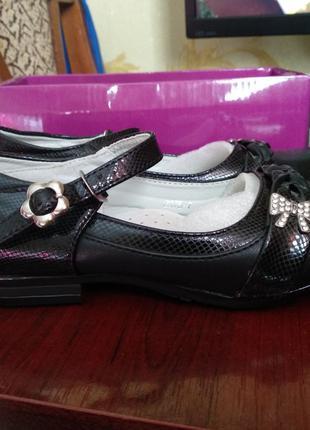 туфли на девочку 18см