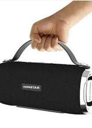 Портативная Мощная стерео колонка HOPESTAR H36 Оригинал, FM, SD