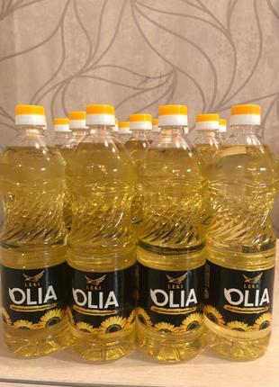 Подсолнечное масло литровая 15x1 упаковке