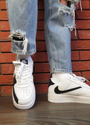 Nike air force low white black