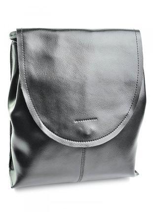 Женский кожаный рюкзак жіночий шкіряний портфель сумка шкіряна