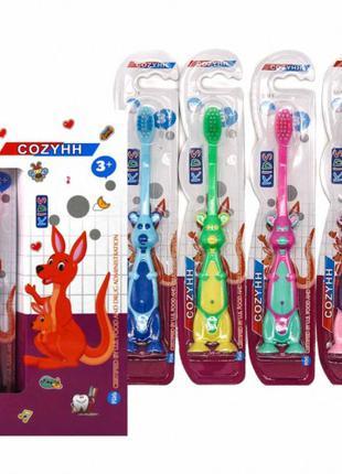 """Зубная щётка детская  """"кенгуру"""" 2шт."""