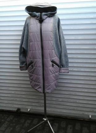 Пальто балон/букле великі розміра