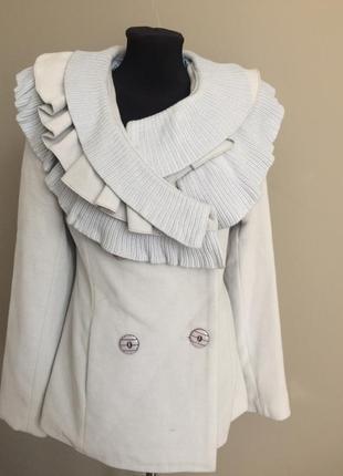 Пальто кашемір коротке