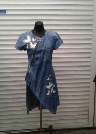 Плаття-туніка джинс