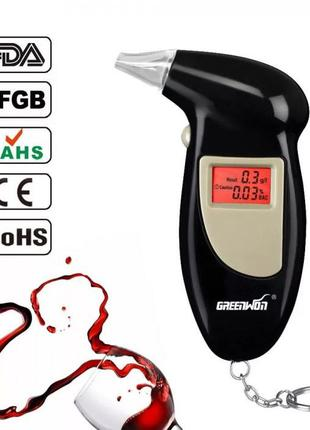 Алкотестер Digital Alcohol Tester, драгер с мундштуками