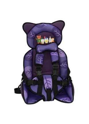 Детское автомобильное бескаркасное кресло.
