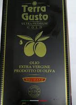 Оливковое масло 5 л. Металлическая тара.
