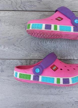 Crocs lego детские кроссовки лето оригинал
