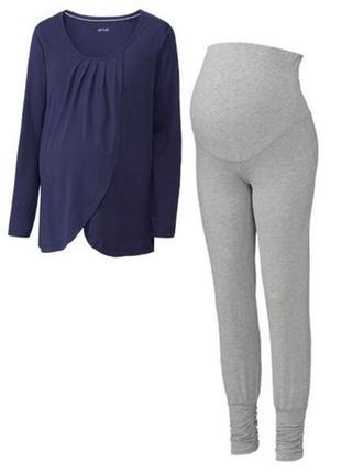 Женская пижама домашний костюм для беременных