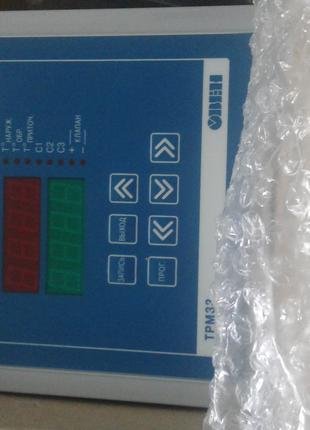 Контроллер для приточной вентиляции.ТРМ33-Щ7 RS485