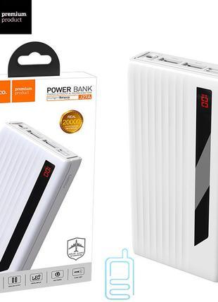 Power Bank Hoco J27A Wide Energy 20000 mAh Original белый