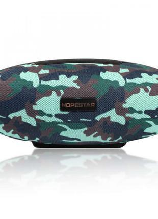 Портативная беспроводная стерео колонка Hopestar H20 Camouflage