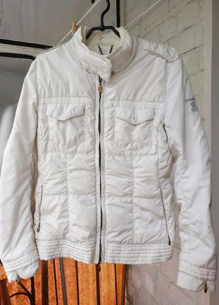 Женская белая куртка,лёгкая куртка женская,куртка женская ве