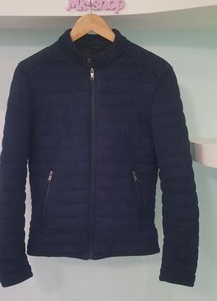 Мужская модная куртка ветровка деми zara man размер s