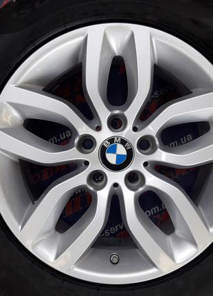 Диски 17 5/120 ЕТ32 BMW X3 оригинал с резиной 225/60r17 Pirelli
