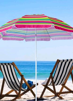 Пляжный зонт umbrela super 220mm.