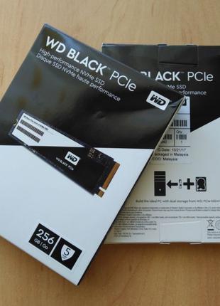 WD SSD Black M.2 256 GB (WDS256G1X0C). Новый, из США.