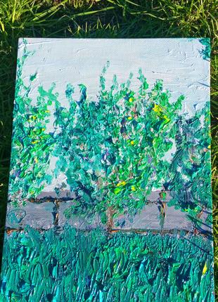 Картина маслом пейзаж 30х40
