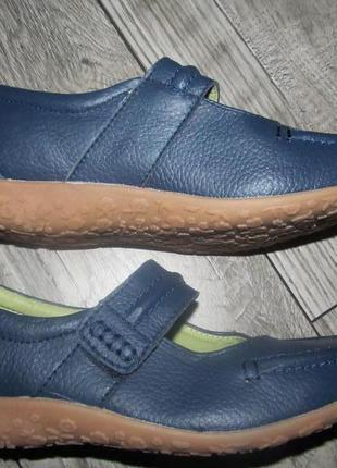 Кожаные  туфли балетки lifestyle   р. 5еee cтелька 24см