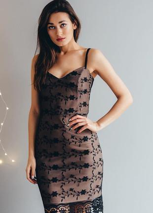 Платье по фигуре сарафан