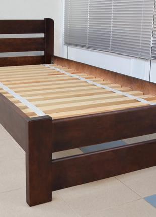 Кровать Односпальная Деревянная 80х200 Рич. Массив Сосны Одесса