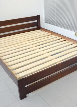 Кровать Деревянная Рич 180х200 Двуспальная Кровать из Сосны