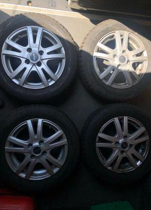 Шини + диски Toyota r14 4х100
